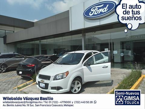 Chevrolet Aveo LT usado (2017) color Blanco precio $126,002