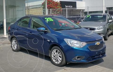 Chevrolet Aveo LT Aut usado (2020) color Azul precio $195,000