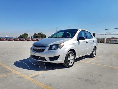 Chevrolet Aveo LS usado (2018) color Plata Dorado precio $135,000