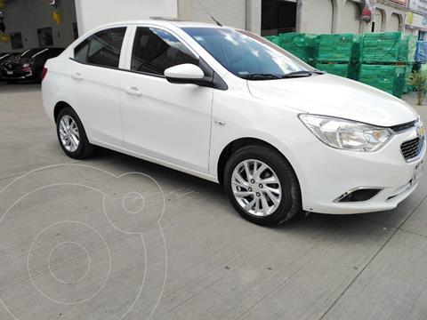 Chevrolet Aveo LTZ usado (2020) color Blanco precio $220,000