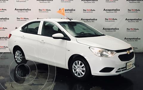 Chevrolet Aveo LS usado (2020) color Blanco financiado en mensualidades(enganche $40,000 mensualidades desde $4,290)