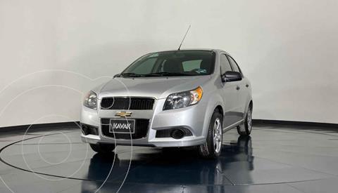 Chevrolet Aveo LT Plus usado (2016) color Plata precio $134,999