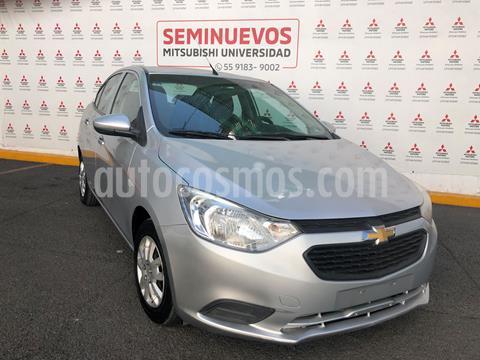 Chevrolet Aveo LS Aa Radio y Bolsas de Aire (Nuevo) usado (2018) color Plata Brillante precio $150,000