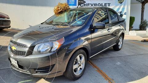 Chevrolet Aveo LT usado (2017) color Gris precio $126,000