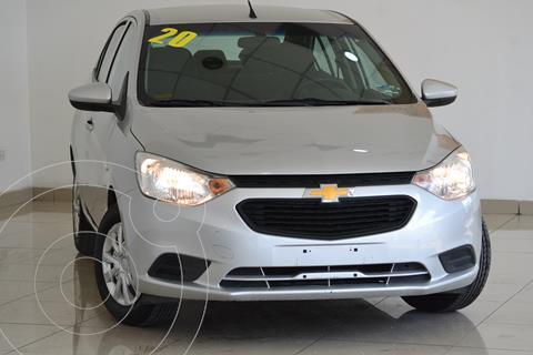 Chevrolet Aveo LS Aut usado (2020) color Plata precio $200,000