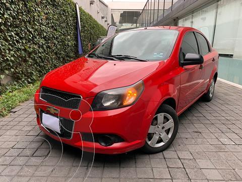Chevrolet Aveo LS usado (2014) color Rojo precio $120,000