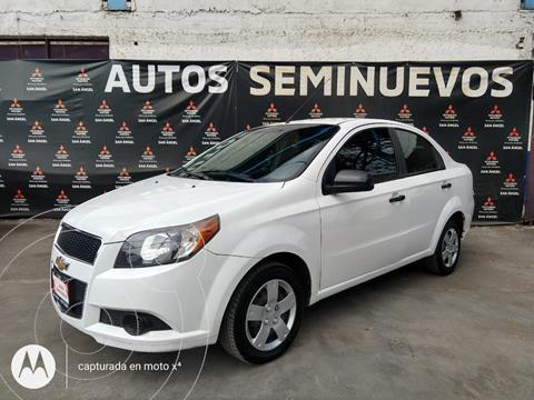 Chevrolet Aveo LS usado (2017) color Blanco precio $115,000