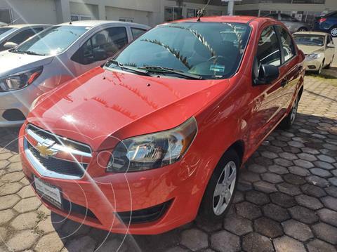 Chevrolet Aveo LS Aa Radio y Bolsas de Aire (Nuevo) usado (2017) color Rojo precio $135,000