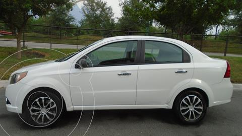 Chevrolet Aveo LT Aut usado (2014) color Blanco precio $107,900