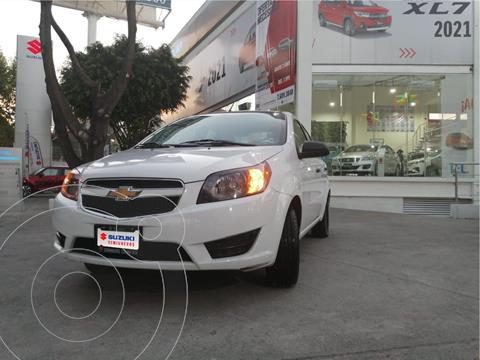 Chevrolet Aveo LS usado (2017) color Blanco precio $130,000