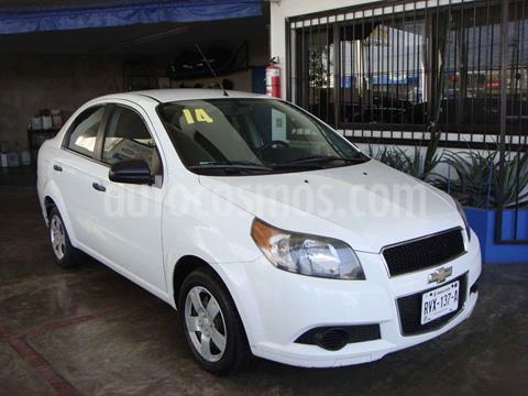 Chevrolet Aveo LT Aut usado (2014) color Blanco precio $130,000