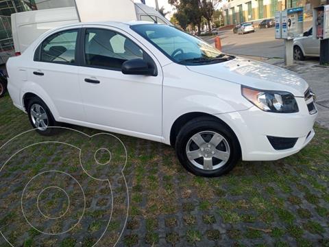 Chevrolet Aveo LS usado (2018) color Blanco precio $152,000