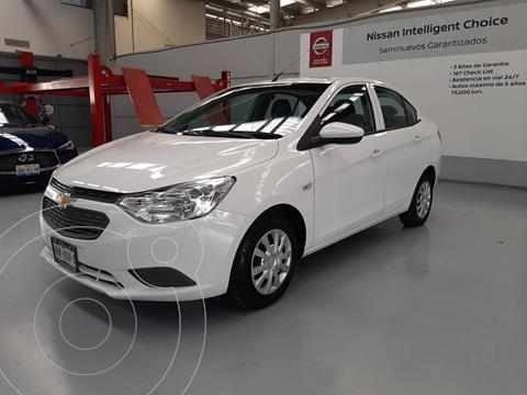 Chevrolet Aveo LS Aa usado (2018) color Blanco precio $169,000
