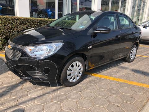 Chevrolet Aveo LS usado (2020) color Negro precio $190,000