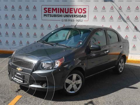 Chevrolet Aveo LT usado (2015) color Gris precio $115,000