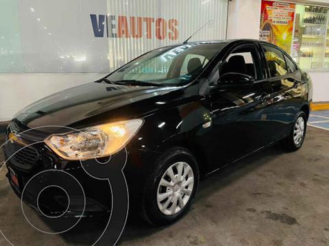 Chevrolet Aveo Paq A usado (2020) color Negro precio $174,000
