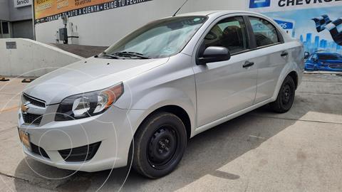 Chevrolet Aveo LS Aa usado (2018) color Plata Dorado precio $144,000