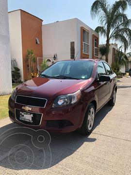 Chevrolet Aveo LT usado (2016) color Rojo Tinto precio $105,000