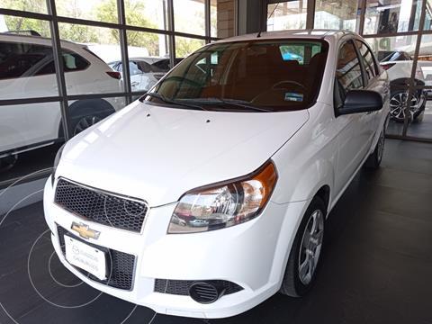 Chevrolet Aveo LT usado (2017) color Blanco precio $136,000