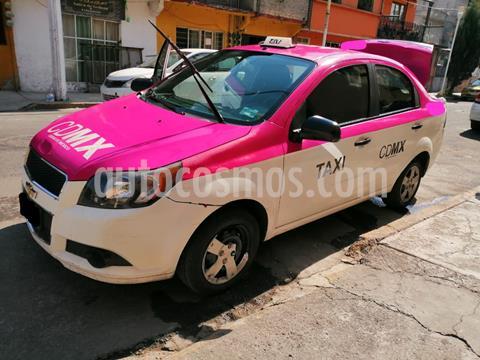 Chevrolet Aveo LS usado (2015) color Blanco precio $90,000