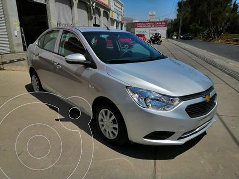 Chevrolet Aveo LS Aa usado (2018) color Plata precio $160,000