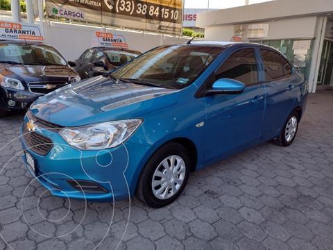 Chevrolet Aveo LS usado (2018) color Azul precio $169,000