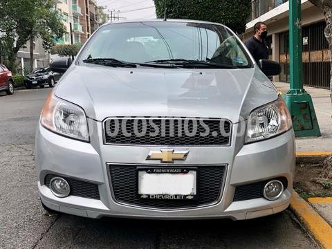 Chevrolet Aveo LTZ Aut usado (2012) color Plata precio $86,000