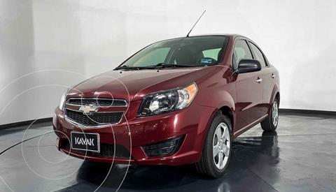 Chevrolet Aveo LS Aa usado (2019) color Rojo precio $152,999