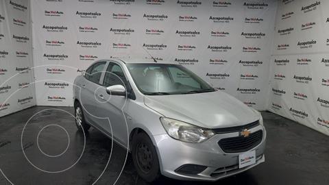 Chevrolet Aveo LS Aa Radio Aut (Nuevo) usado (2018) color Plata financiado en mensualidades(enganche $32,000 mensualidades desde $3,510)