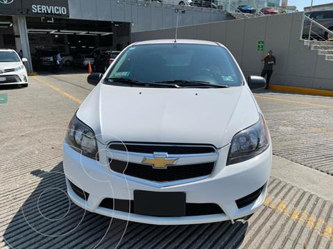 Chevrolet Aveo LT usado (2017) color Blanco precio $135,000