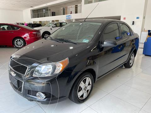 Chevrolet Aveo LS Aa usado (2015) color Negro precio $107,000