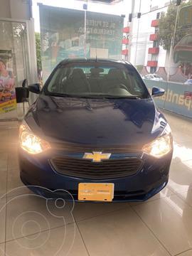 Chevrolet Aveo LS usado (2020) color Azul precio $210,000