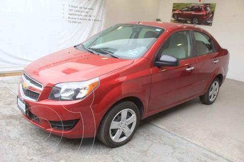 Chevrolet Aveo LT usado (2018) color Rojo precio $169,000