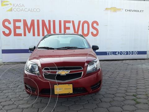 Chevrolet Aveo LT usado (2018) color Rojo precio $160,000