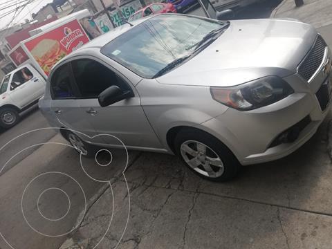 Chevrolet Aveo LT usado (2015) color Plata Brillante precio $89,000