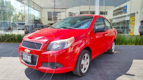 Chevrolet Aveo LT (Nuevo) usado (2015) color Rojo precio $120,000