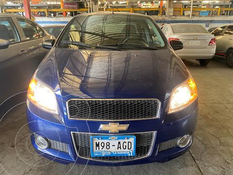 Chevrolet Aveo LTZ usado (2016) color Azul Oscuro precio $120,000