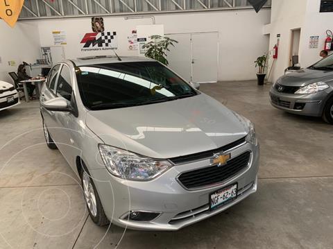 Chevrolet Aveo LTZ Bolsas de Aire y ABS Aut (Nuevo) usado (2018) color Plata Brillante financiado en mensualidades(enganche $49,326 mensualidades desde $3,553)