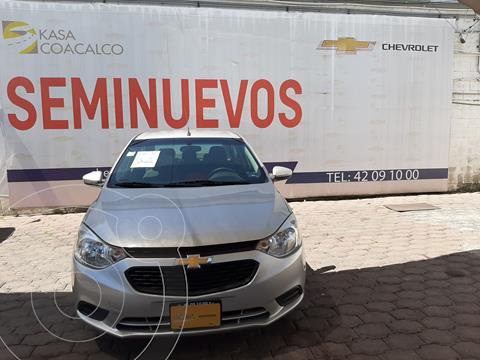 Chevrolet Aveo LS usado (2018) color Gris precio $160,900