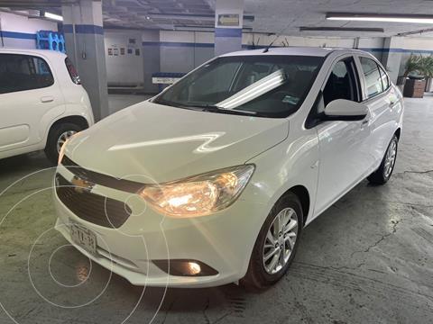 Chevrolet Aveo LT Aut usado (2020) color Blanco precio $200,000