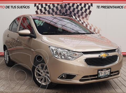 Chevrolet Aveo LS usado (2018) color Bronce financiado en mensualidades(enganche $95,000 mensualidades desde $2,364)
