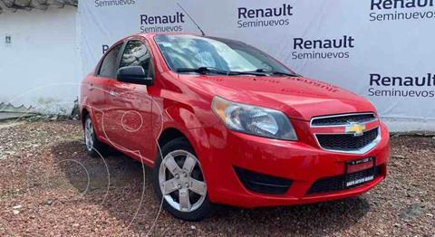 Chevrolet Aveo LT Bolsas de Aire y ABS (Nuevo) usado (2017) color Rojo precio $135,000