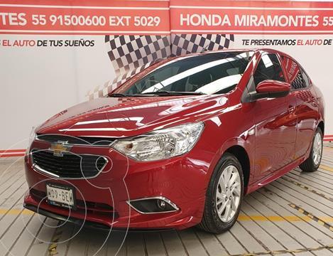 Chevrolet Aveo LTZ usado (2020) color Rojo financiado en mensualidades(enganche $61,250 mensualidades desde $6,297)