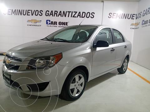 Chevrolet Aveo LS Aa usado (2018) color Plata precio $144,999
