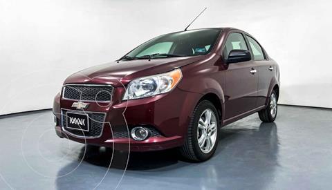 Chevrolet Aveo LTZ usado (2014) color Rojo precio $119,999