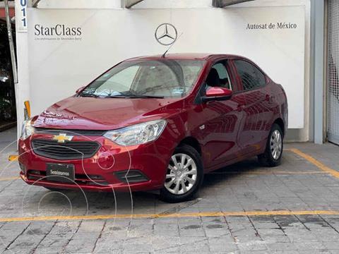 Chevrolet Aveo Paq D usado (2020) color Rojo precio $195,000