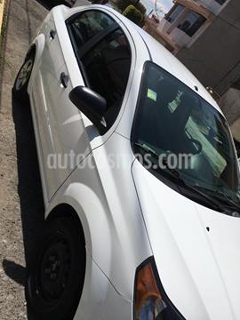 Chevrolet Aveo LS Aa radio (Nuevo) usado (2015) color Blanco precio $83,000