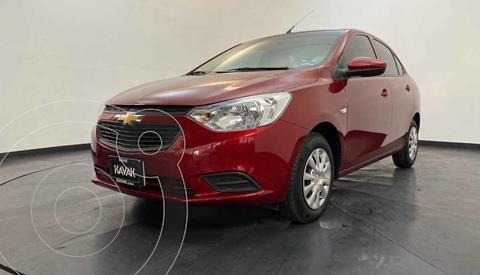 Chevrolet Aveo LS usado (2019) color Rojo precio $179,999
