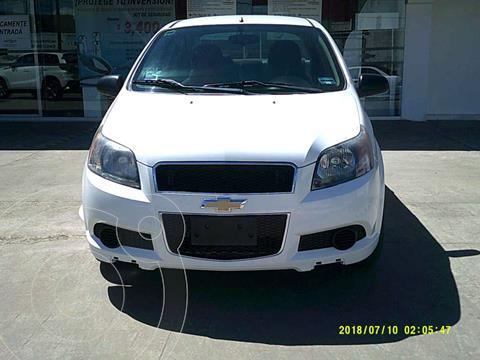 Chevrolet Aveo LT Plus usado (2016) color Blanco precio $133,000