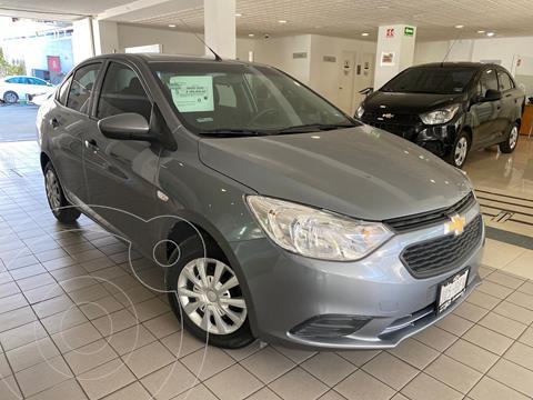 Chevrolet Aveo LS Aa usado (2020) color Gris precio $189,000